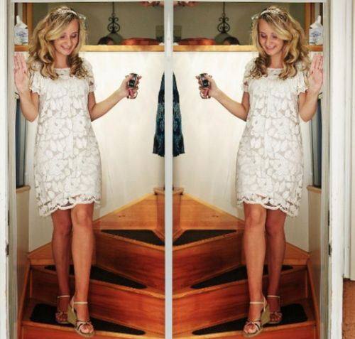 Coquette Bridal Shower Dress