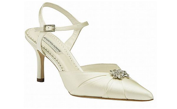 Couture Wedding Shoes by Benjamin Adams Gweneyth