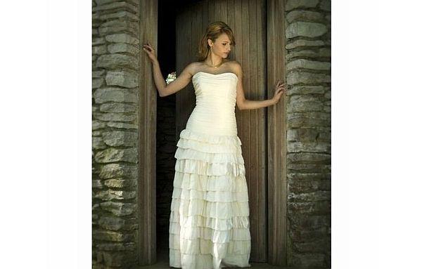 Eco-friendly wedding dress by Rai-Lynn Broach