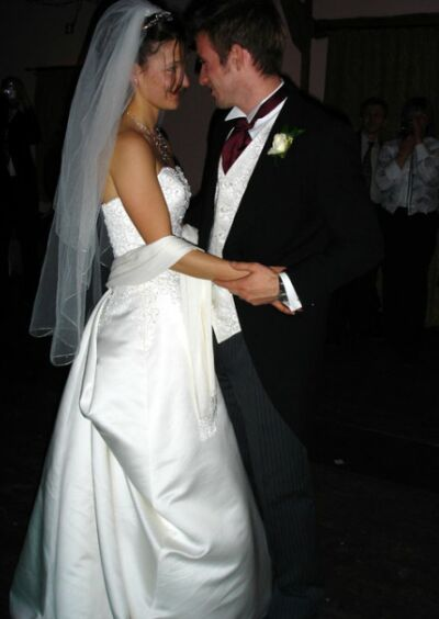 first wedding dance bride and groom