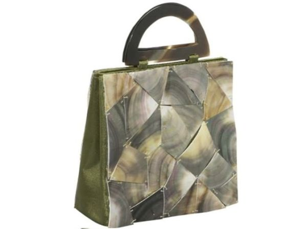 Global Elements Shattered Glass Handbag