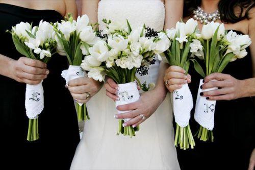 Handkerchief Wrap bouquet
