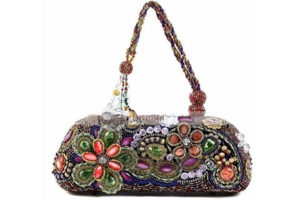 Handmade Bead Women Handbag