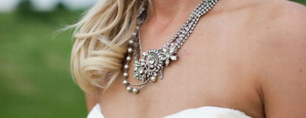 How to make an exquisite wedding necklace by yourself