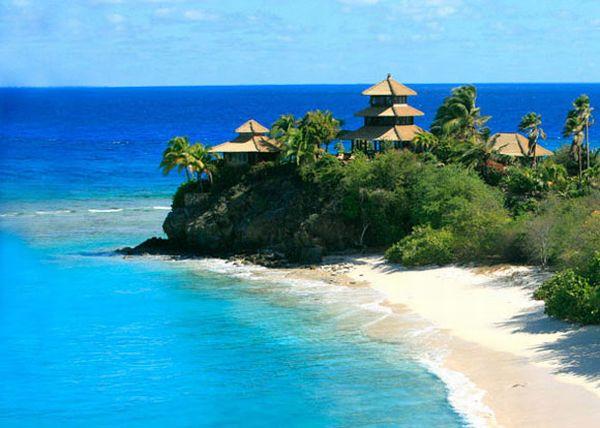 Idyllic island wedding for Sir Richard Branson's daughter Holly