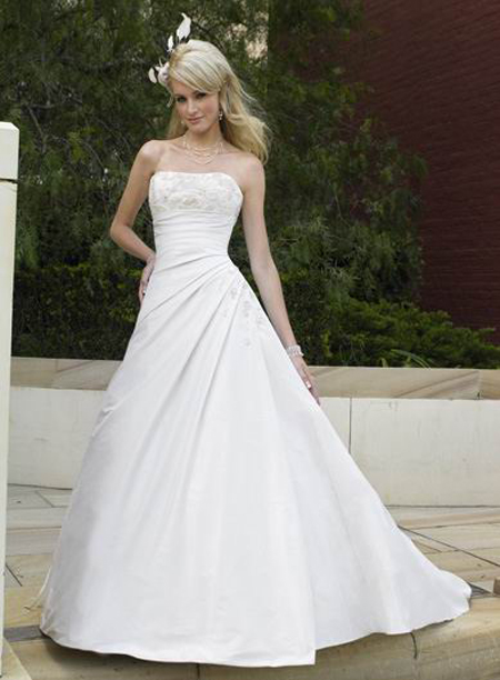 599bd7923a Disney wedding gowns for fairytale style weddings - Wedding Clan