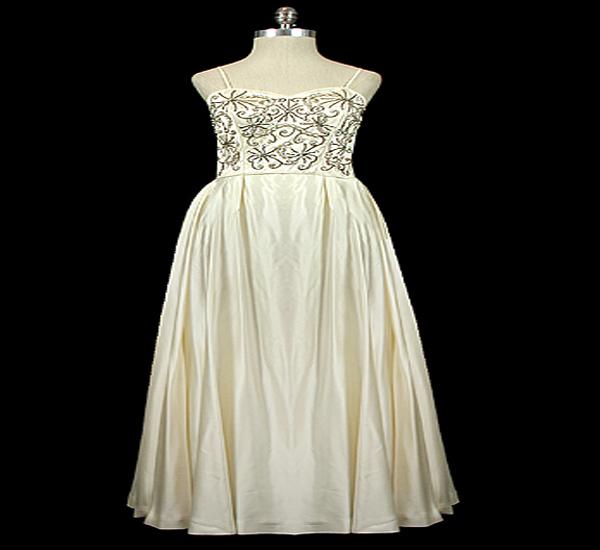 Jewelled sweet heat gown