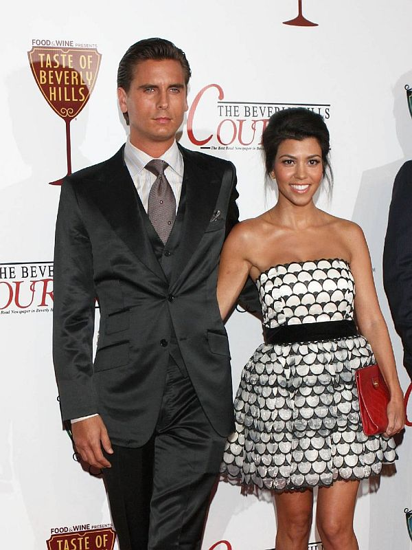Kourtney Kardashian and Scott Disick wedding