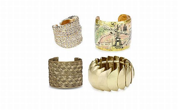 Ornamented and bold bracelets