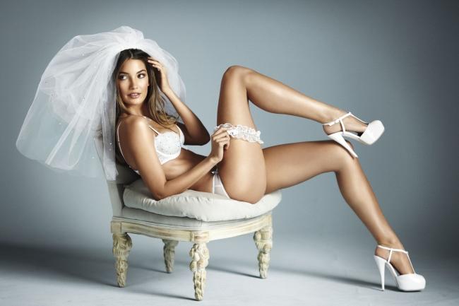 Perfect wedding lingerie