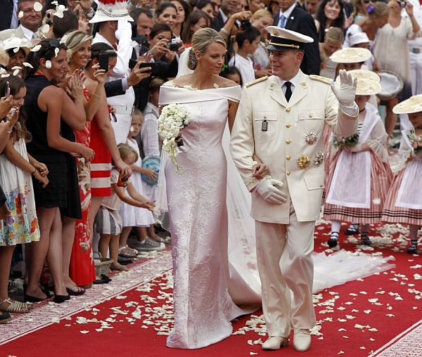 Prince Albert of Monaco and Charlene