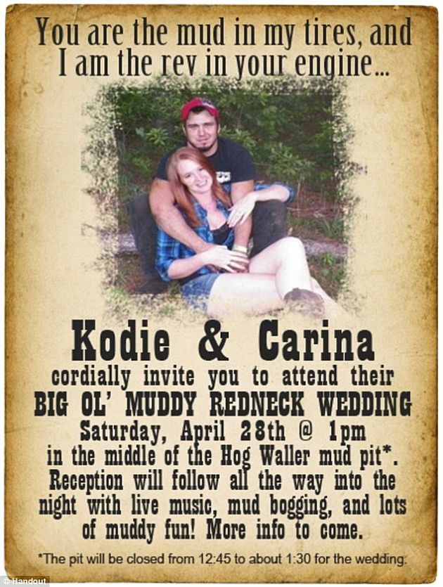 Muddy wedding