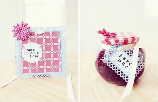 Strawberry Jam  favors