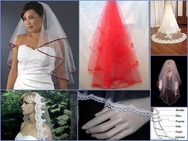 Types of veils
