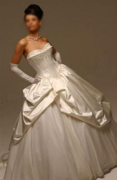 weddiing dress h46
