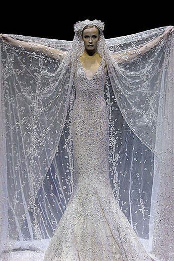 wedding gown by elie saab image 2