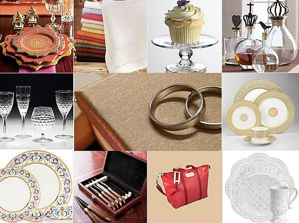 Wedding Registry Items