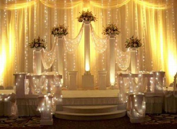 Wedding venue and décor
