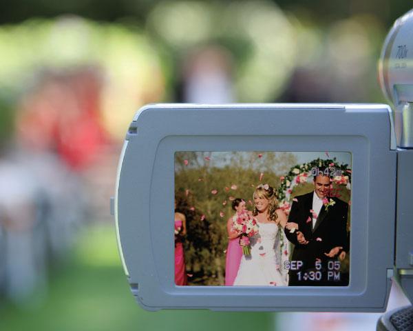 Wedding videotaping