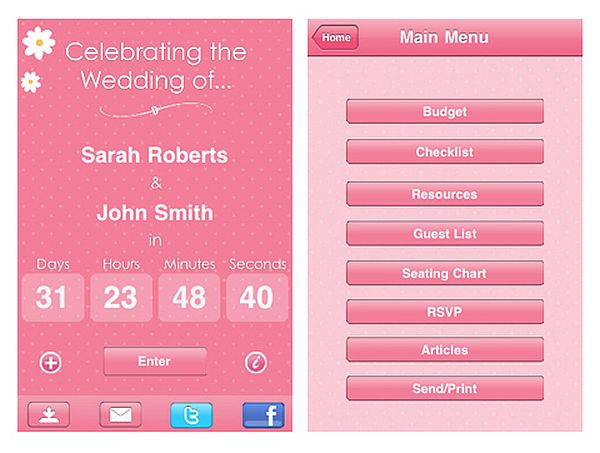 Wedding Countdown app