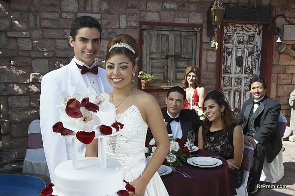 glorious wedding
