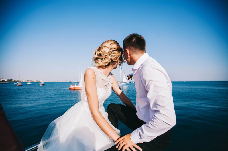 Dream Yacht Wedding