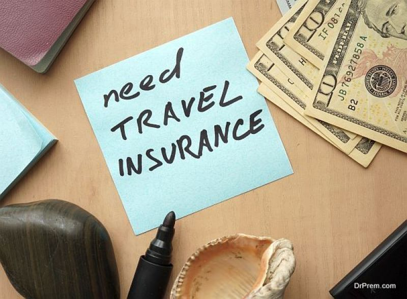 Suggest travel insurance for your guests