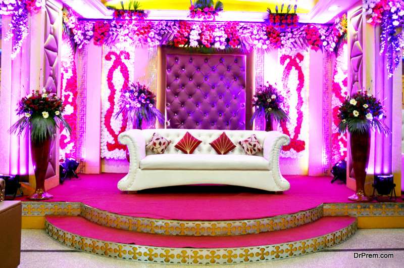 decorated in pink