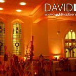 Cheadle-School-Orange-Uplighting