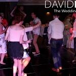 Dancing guests at hyde wedding