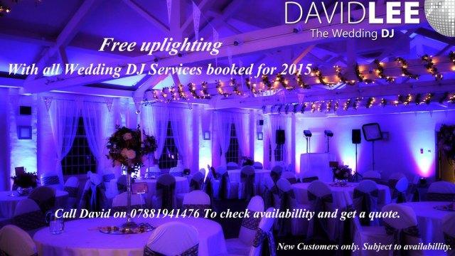 Free uplighting offer