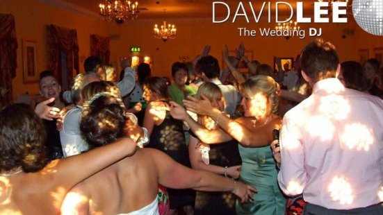 Wedding Guests Dancing at Farington Lodge