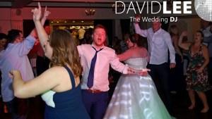 Dancefloor full in the Balmoral Suite