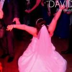 Bride Rocking Out at Davyhulme Golf Club