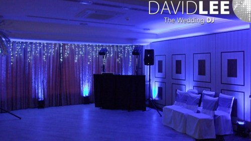 Dukinfield Golf Club Wedding DJ & Lighting