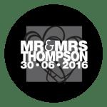 Mr & Mrs Monogram 19