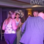 Eclectic Hotel Bride Dancing with Guests