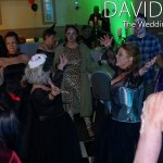 Brides Dancing at Halloween Wedding Cheshire