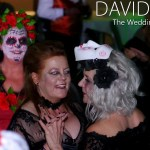 Corpse Brides Dancing at Halloween Wedding