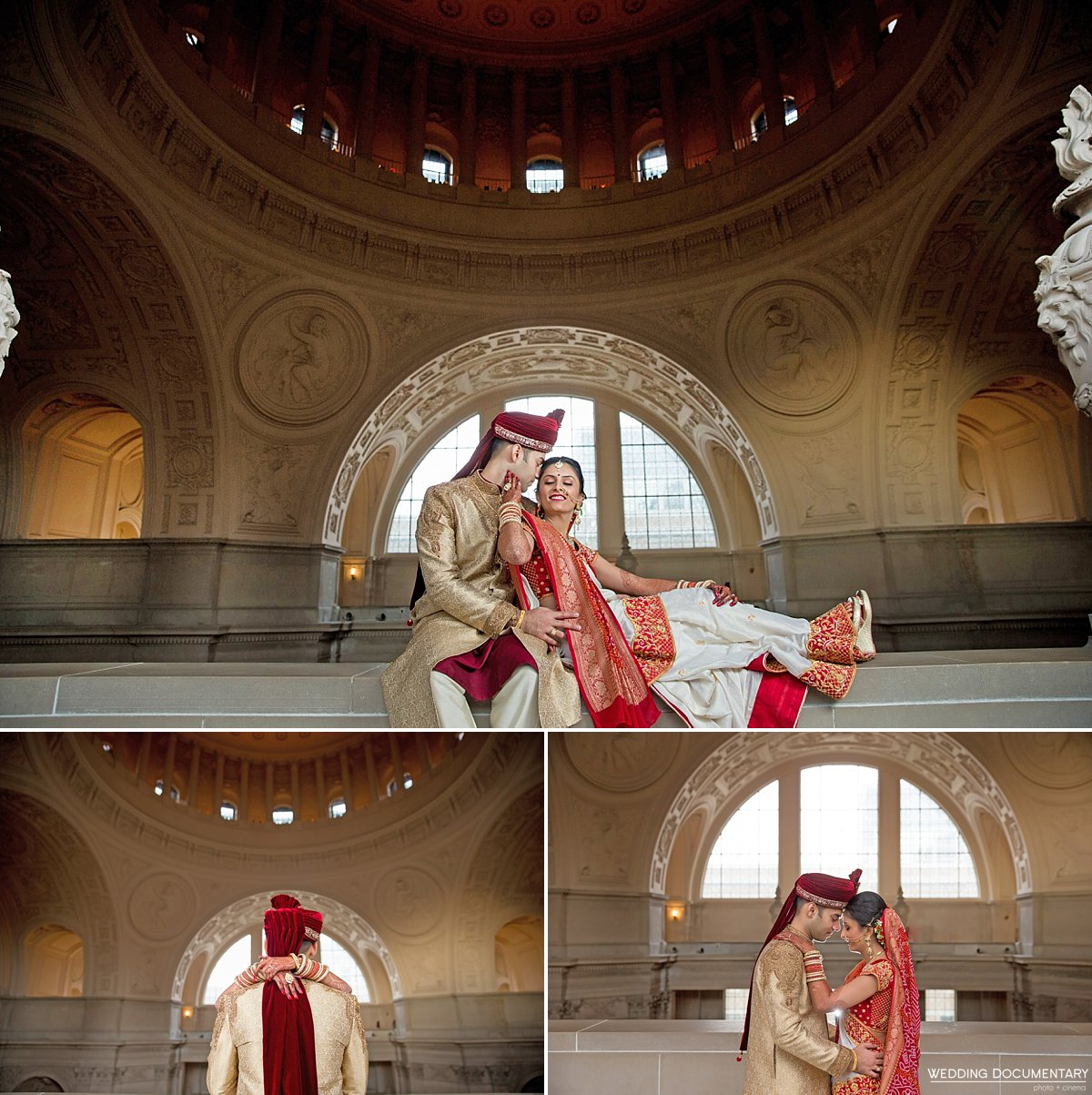Amy Rishi Indian Wedding At San Francisco City Hall