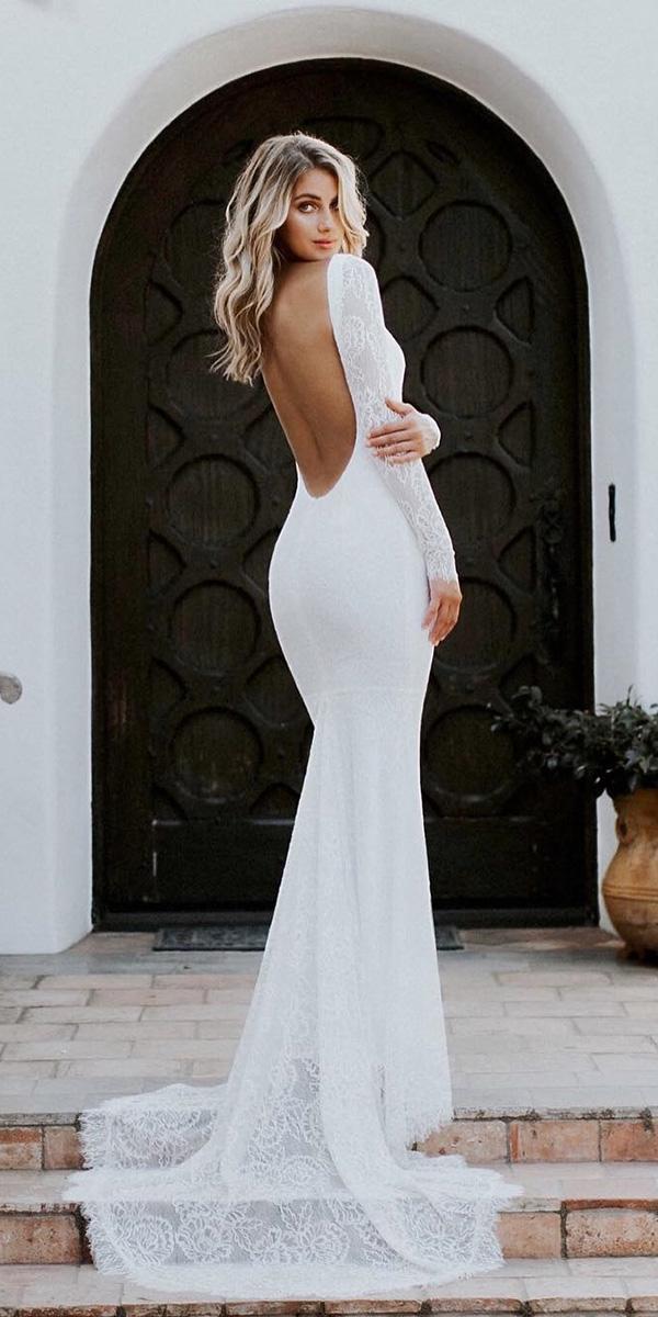 Trumpet Lace Wedding Dress