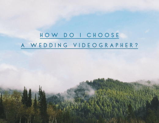 How Do I Choose A Wedding Videographer? with Wesley Thompson