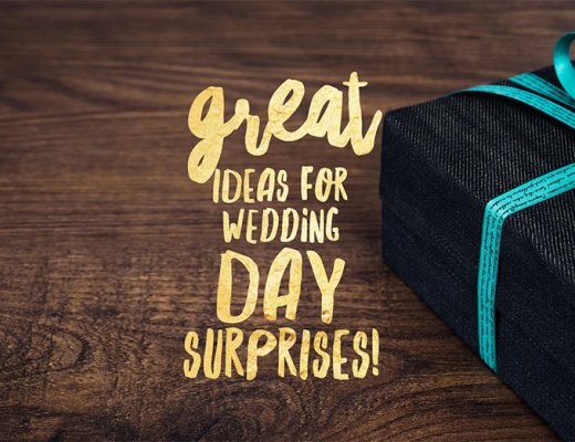 Great Ideas For Wedding Day Surprises with Hannah Larkin Wedding Photographer Sarah Cammish Elsa Rose Boutique Susan Denton Wedding Celebrant