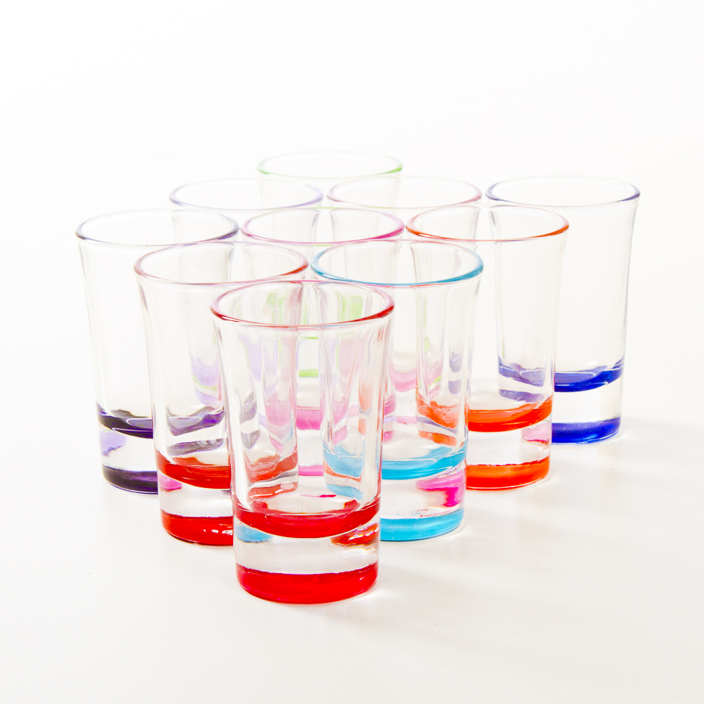 Light Personalized Shot Glasses