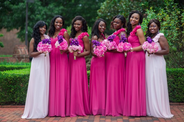 Nigerian Bridesmaid Dresses