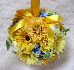 ボールブーケ 造花 結婚