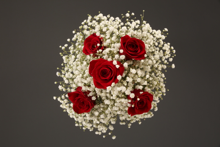 Mixed Flower Bridal/Bridesmaid Bouquets Delivered To Detroit Metro Area