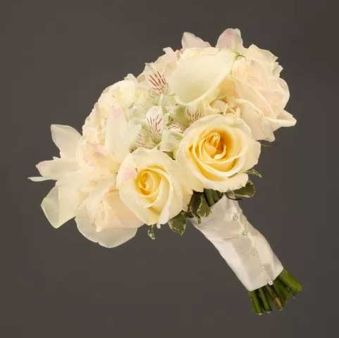 Picture of White Roses For Packages Link