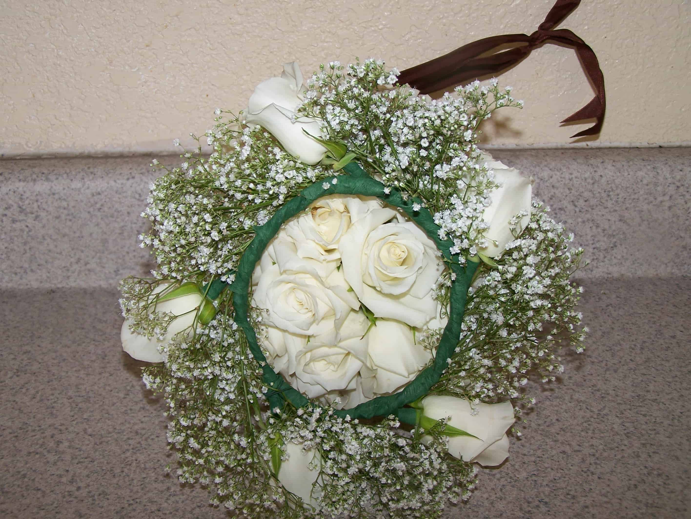 Home wedding flowers 4 less wedding flowers home bouquet headpiece izmirmasajfo