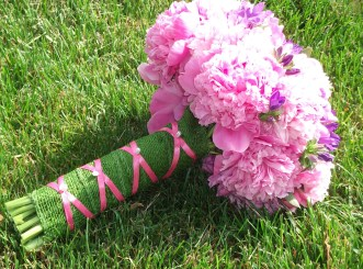 Pink Peonies Bridal bouquet